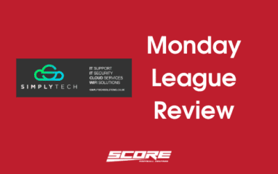 Simply Tech Solutions Monday League Review – 13/10/2020