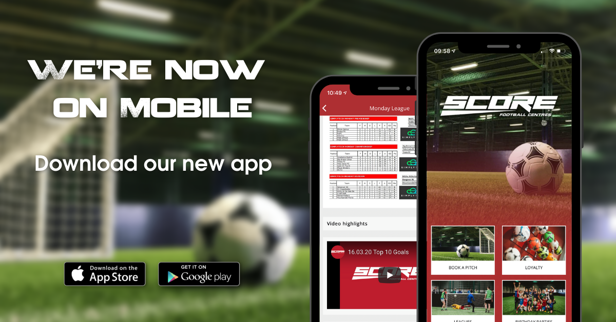 Introducing the Score FC Mobile App